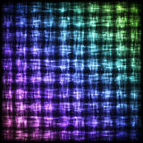 Glowing Checkered Pattern with Light Effect. Royalty Free Stock Photography
