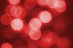 Glowing Christmas light Stock Photography