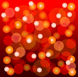 Glowing Christmas light Royalty Free Stock Photography