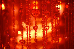 Glowing Christmas light background Royalty Free Stock Photo