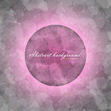 Glowing circle on abstract of blurred texture background Royalty Free Stock Photos