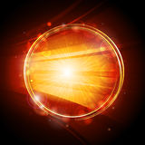 Glowing circle background Royalty Free Stock Image