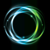 Glowing Circle Background Design Royalty Free Stock Images