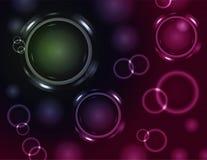 Glowing circle background2 Stock Photo