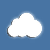 Glowing cloud Royalty Free Stock Photography
