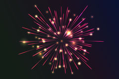 Glowing collection. Firework. Glowing collection. Firework, light effects isolated and grouped. Transparent sunlight lens flare, stars. Holiday fireworks Royalty Free Stock Photo