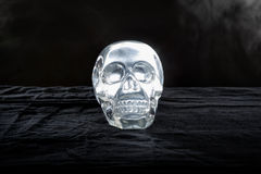 Glowing Crystal Skull Stock Images