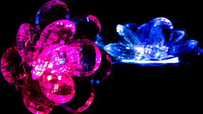 Glowing Crystals Royalty Free Stock Images