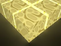 Glowing cubes Stock Photos