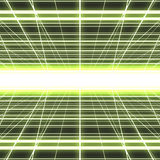 Glowing cyber grid Royalty Free Stock Photography