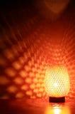 Glowing Desk Lamp Stock Photo