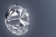 Glowing Diamond - 3D Illustration Stock Photography