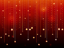 Glowing diamond background red Stock Photo