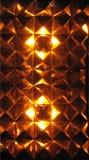 glowing diamond pattern Stock Photo