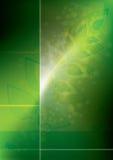Glowing eco background Royalty Free Stock Image