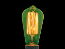 Glowing element of incandescent isolated Royalty Free Stock Images