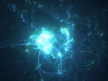 Glowing energy discharge texture background.  Stock Images