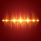 Glowing Equalizer Stock Images