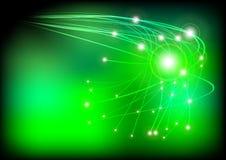 Glowing Fibers Royalty Free Stock Image