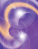 Glowing futuristic purple vector background Royalty Free Stock Photography