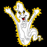 Glowing Ghost Stock Image