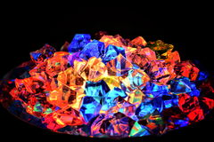 Glowing glass Royalty Free Stock Images
