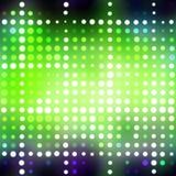 Glowing Green Dots stock illustration