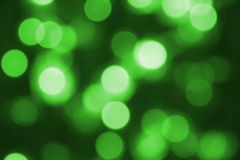 Glowing green lights Royalty Free Stock Photography