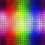 Glowing Halftone Dots Texture Stock Photo
