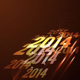 Glowing happy new year design. Shiny glowing happy new year design background Stock Photos