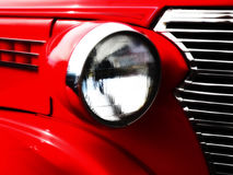 Glowing Headlight Royalty Free Stock Photography