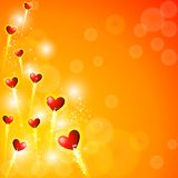 Glowing Heart Stock Image