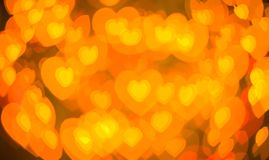 Glowing hearts Stock Photography