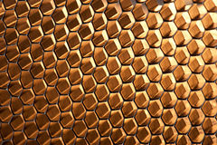 Glowing Honeycomb Structure Stock Photos