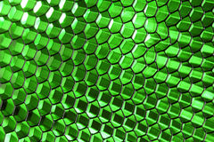 Glowing Honeycomb Structure Stock Image