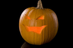 Glowing Jack-o-Lantern 789 Royalty Free Stock Images