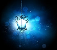 Glowing lantern Stock Photography