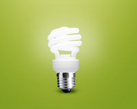 Glowing Light bulb Stock Photography