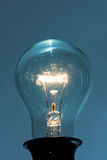 Glowing light bulb Royalty Free Stock Image