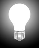 Glowing light bulb Royalty Free Stock Photos