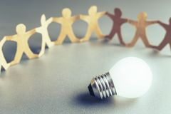 Teamwork for Success Royalty Free Stock Images