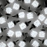 Glowing light bulbs Royalty Free Stock Photos