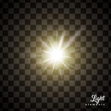 Glowing light effects Stock Photo