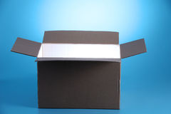 Glowing  light from open box Royalty Free Stock Image