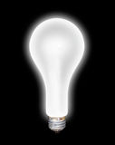 Glowing Lightbulb Royalty Free Stock Photography