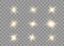 Glowing lights effect. vector illustration