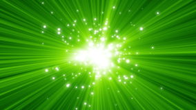 Glowing Lights. Particle explosion HD1080 stock illustration