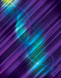 Glowing Line Background with swirls and sp Stock Images