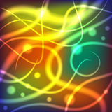 Glowing lines. Abstract background with glowing lines Royalty Free Stock Photo