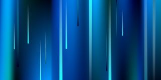 Glowing Lines. Digital Falling Glare. stock illustration